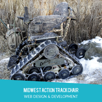 MIDWEST ACTION TRACKCHAIR | WEB DESIGN