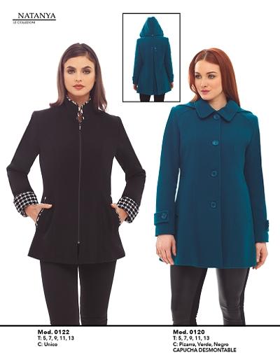 Precios de abrigos natanya