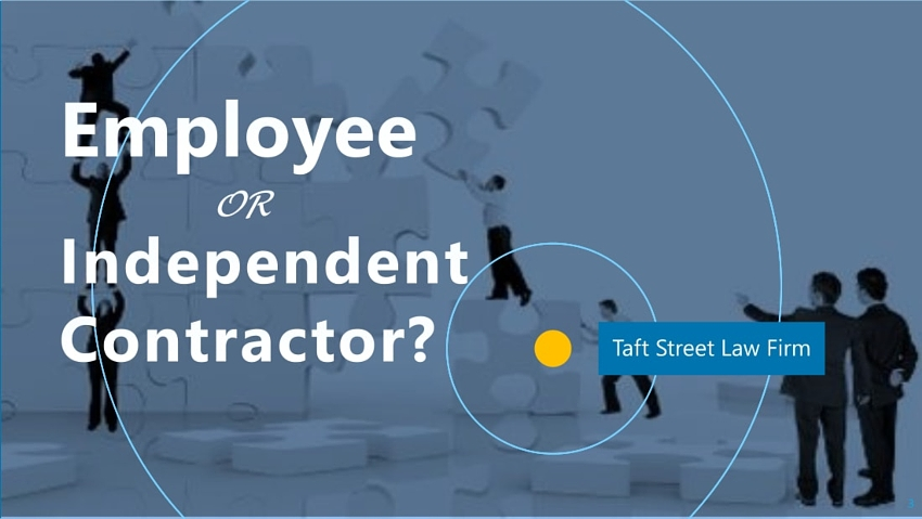 independent contractor or employee Determining whether you are an employee or independent contractor is important for federal tax purposes if you are an employee, your employer must withhold income tax and your portion of social security and medicare taxes (unless exempt) you should receive a form w-2 from your employer showing.