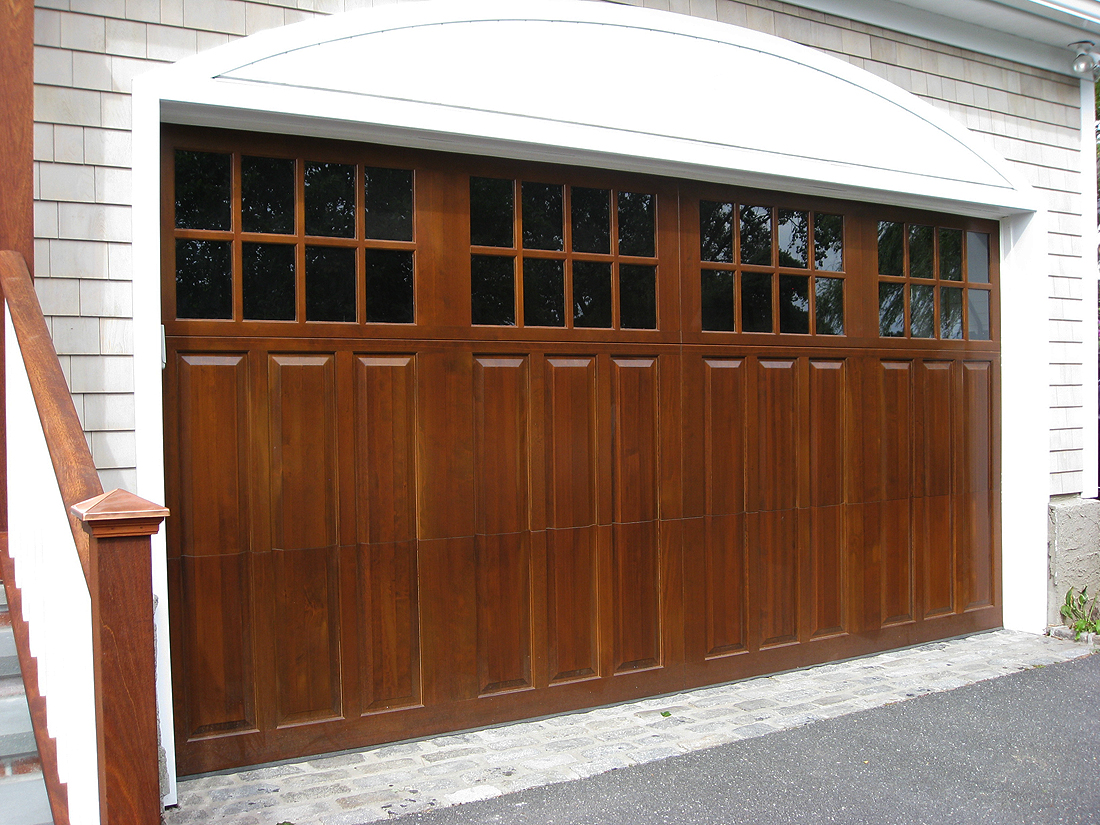 A Close Up Look At Attractive Garage Doors We Installed