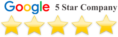 Main Street Door is Ranked 5 Star on Google