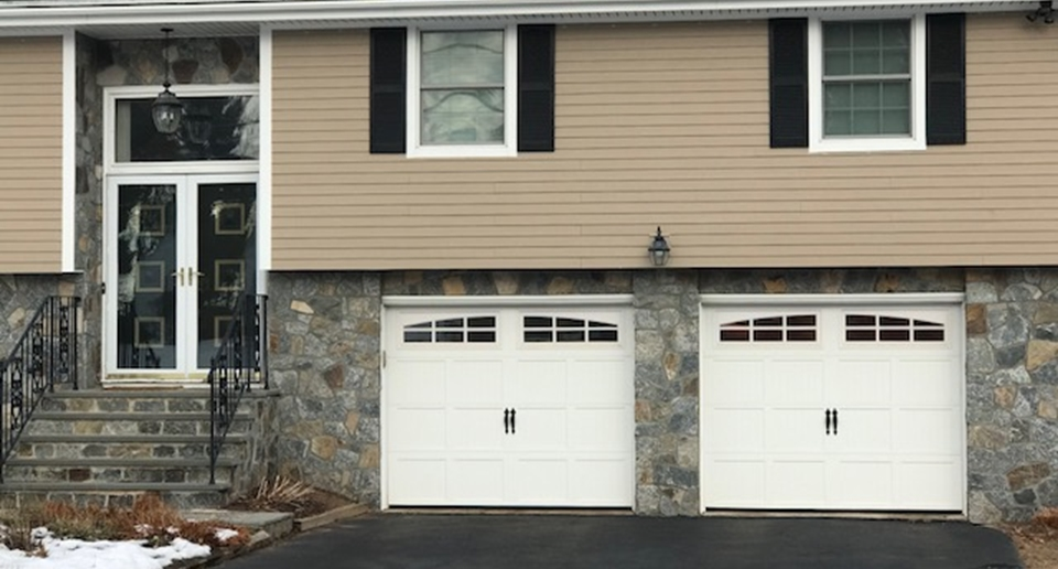Garage doors like these are safe and convenient