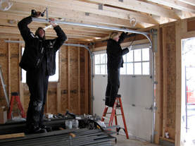 We hire our own garage door installers and repair crew