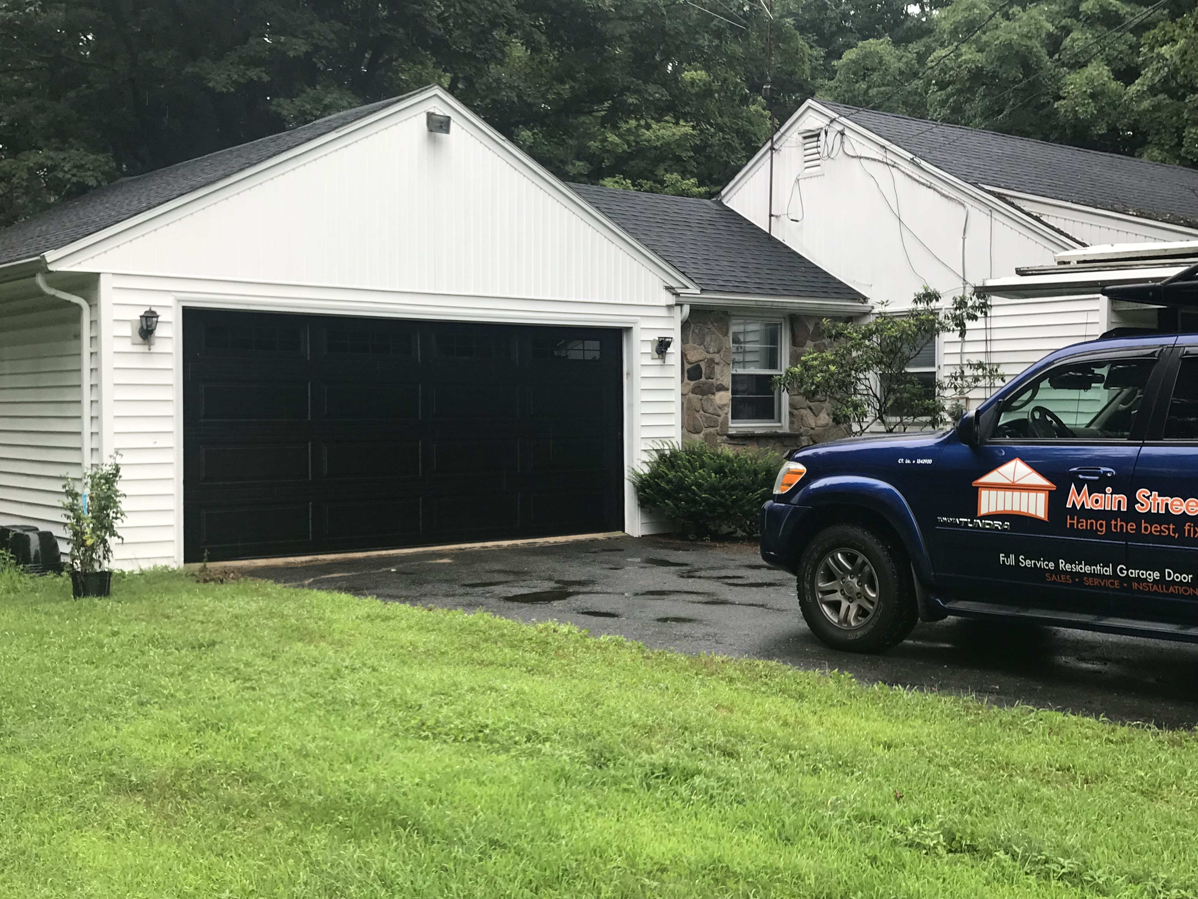 Whether your New Hartford home is historic or new, enhance its appearance and improve security with our new garage doors.