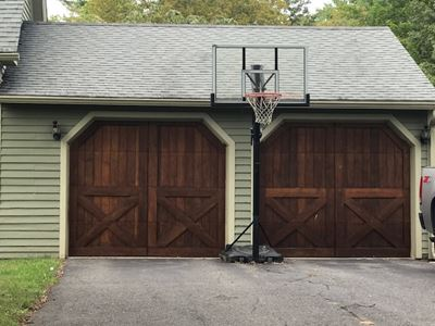 Keep Glastonbury beautiful with garage doors that look great and work every time
