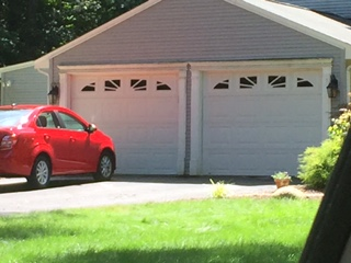 Have your garage door system inspected so your car will not get stuck outside
