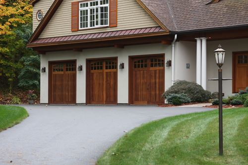 Increase the value of your home with beautifully designed and expertly installed garage doors