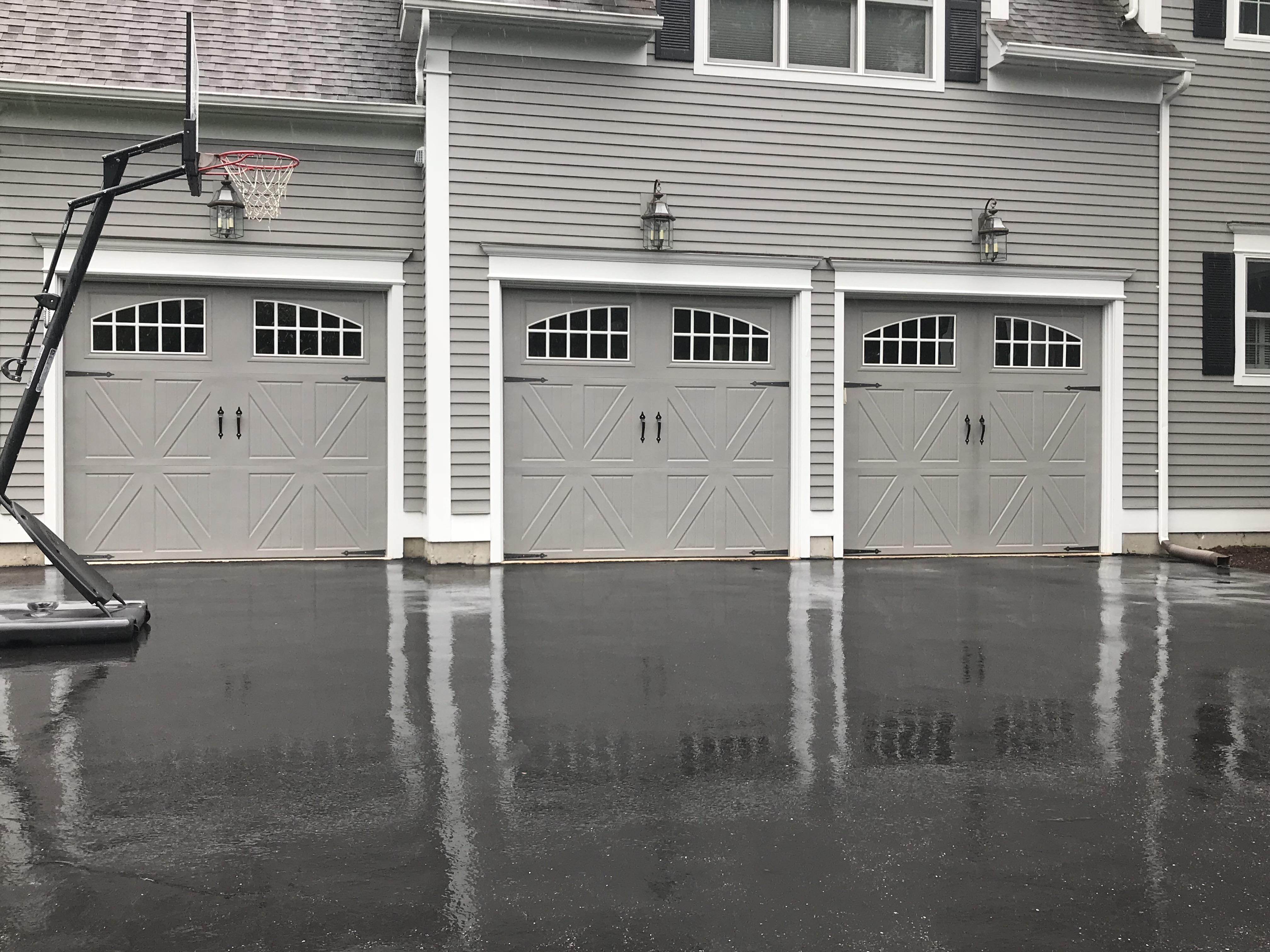We can get your garage door repairs going during our first visit