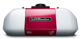 The best garage door operating system includes a LiftMaster motor