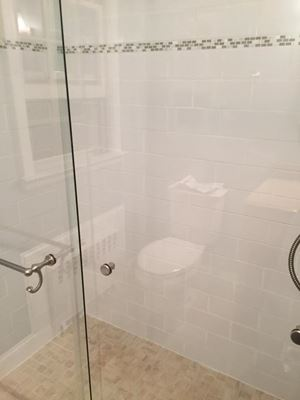 How about a classy walk-in shower  for your Cromwell residence?