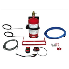 Components of the AMEREX Small Vehicle Fire Suppressant System