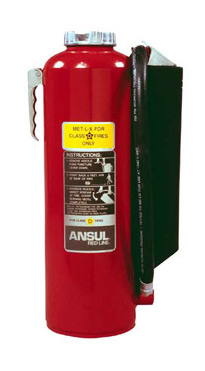 ANSUL MET-L-X cartridge operated fire extinguisher
