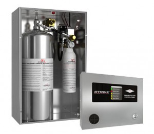 AMEREX COBRA kitchen fire suppressant system