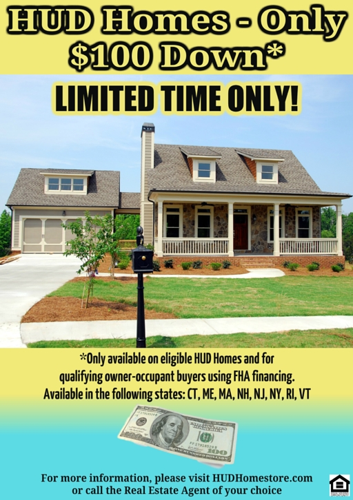 Many HUD Homes are available