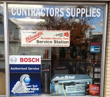 We have many of the supplies contractors need on the job