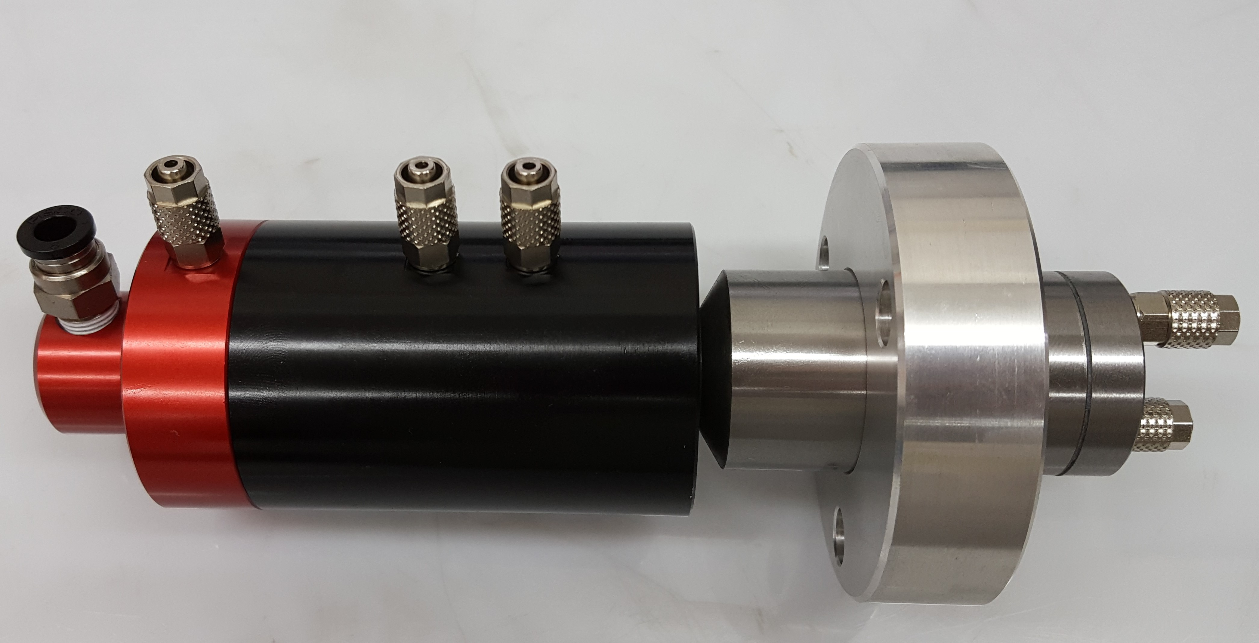 Air Feed Tube with four ports