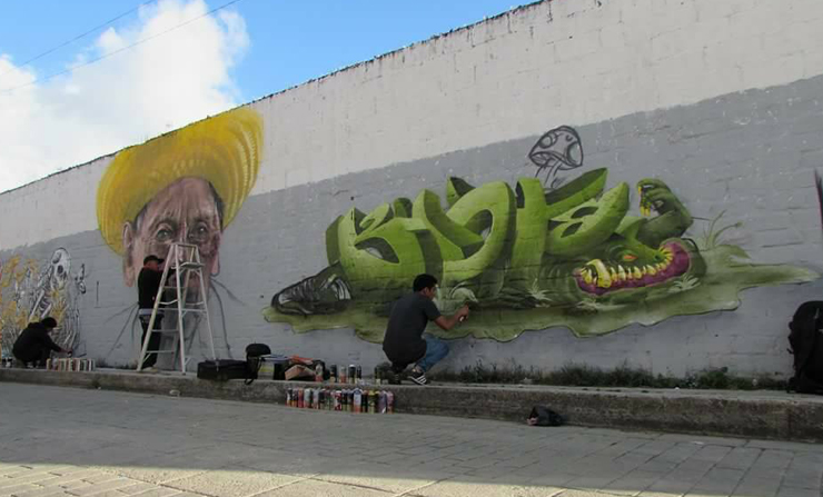 Hip Hop And The Graffiti Art Scene Merida Homage To The Yucatecan