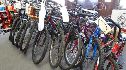 Bikes for children and adults at Renaissance Cyclery