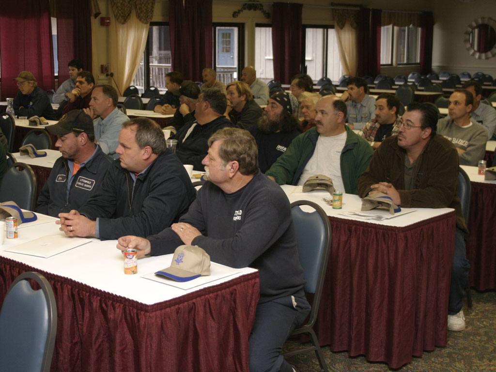 Photo of our well attended truck fleet seminar