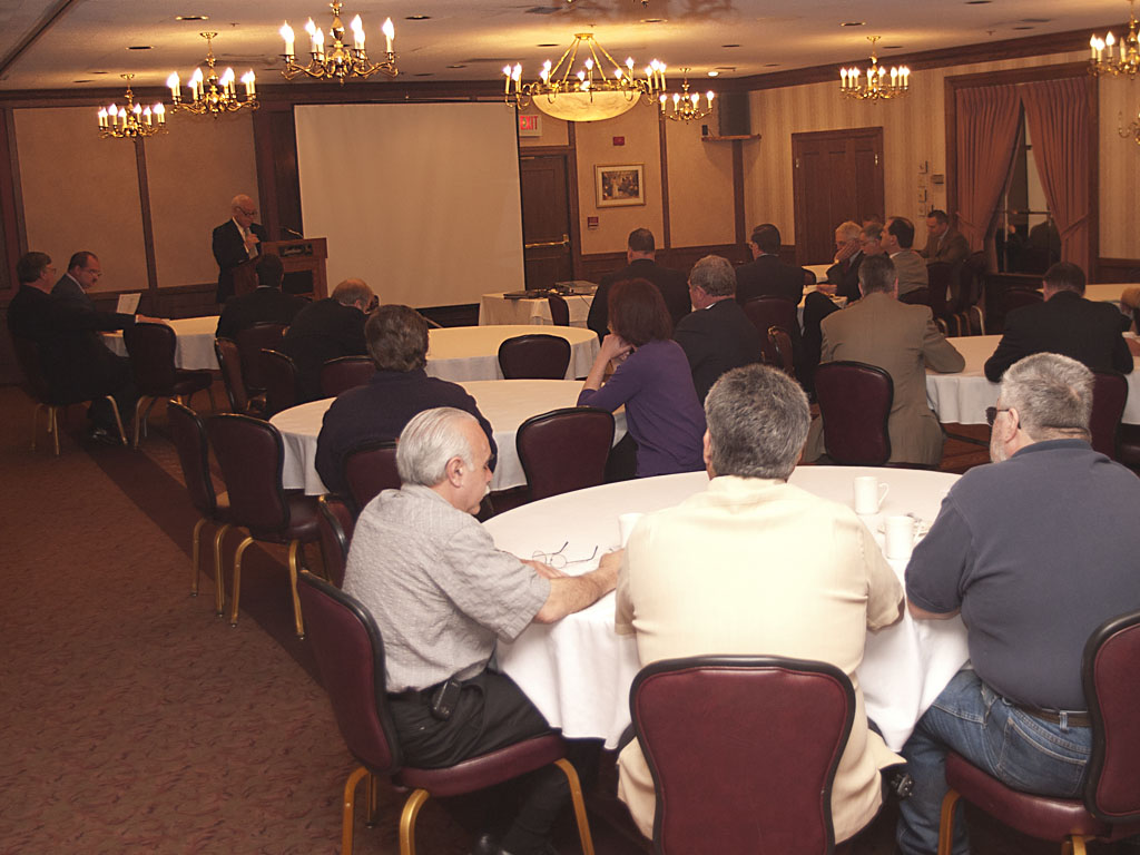 Photo of CASHO members at their annual meeting.