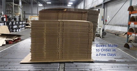 Corrugated Packaging and Shipping Products - R&R Corrugated