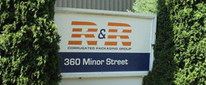 R & R has 206,000 square feet of combined manufacturing and warehouse space