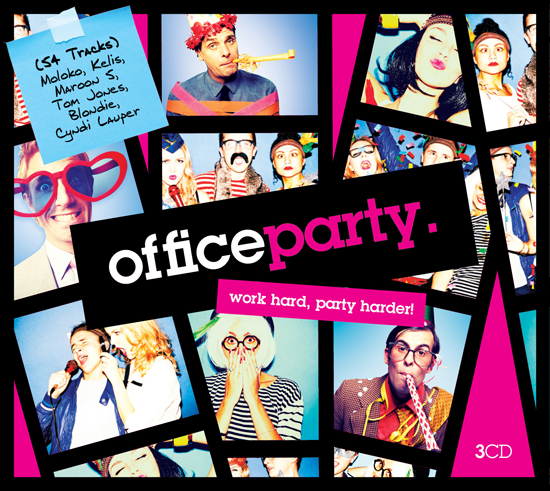 Office Party / Album Art / Neel Panchal