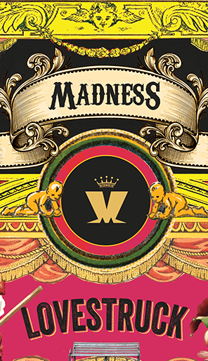 Madness Record Sleeve Design