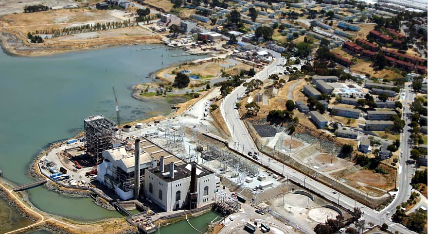 HUNTERS POINT POWER PLANT CLOSURE