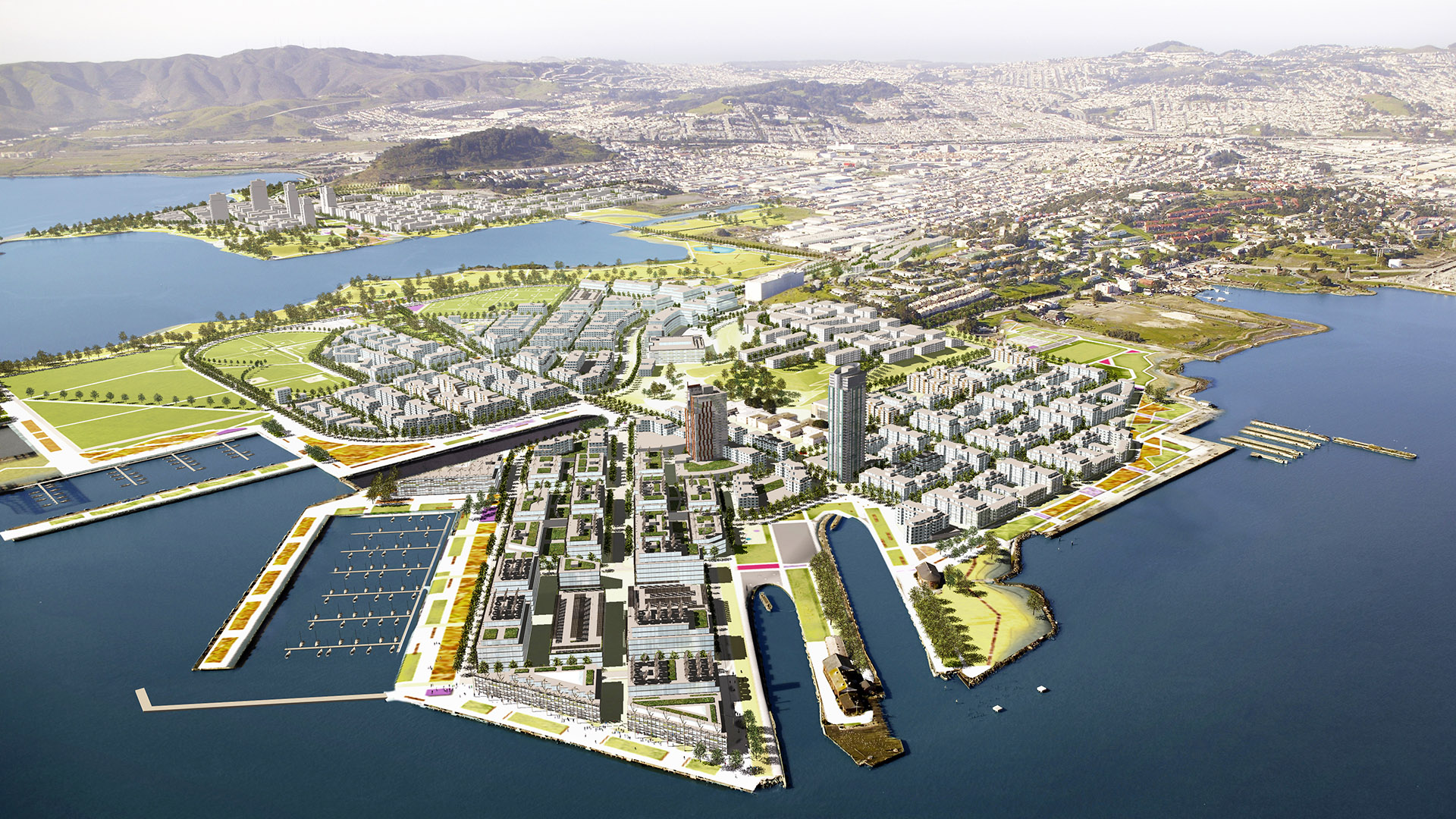 HUNTERS POINT SHIPYARD AND CANDLESTICK DEVELOPMENT