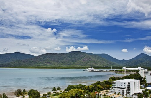 photo of Cairns waterfront and  CBD