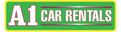 A1 Car Rentals logo for footer