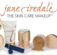 Jane Iredale products and skin care.