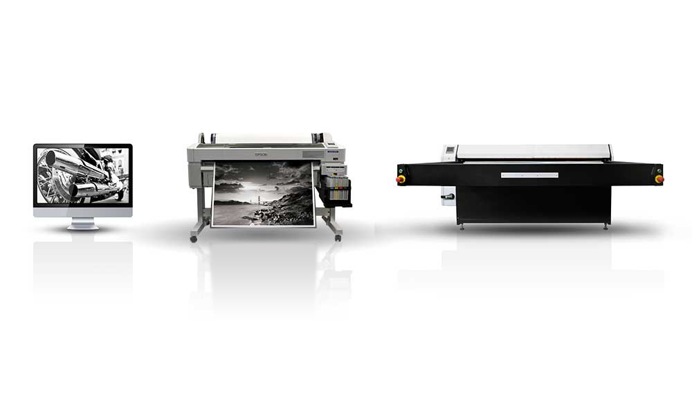 Mac and Printer and Heatpress
