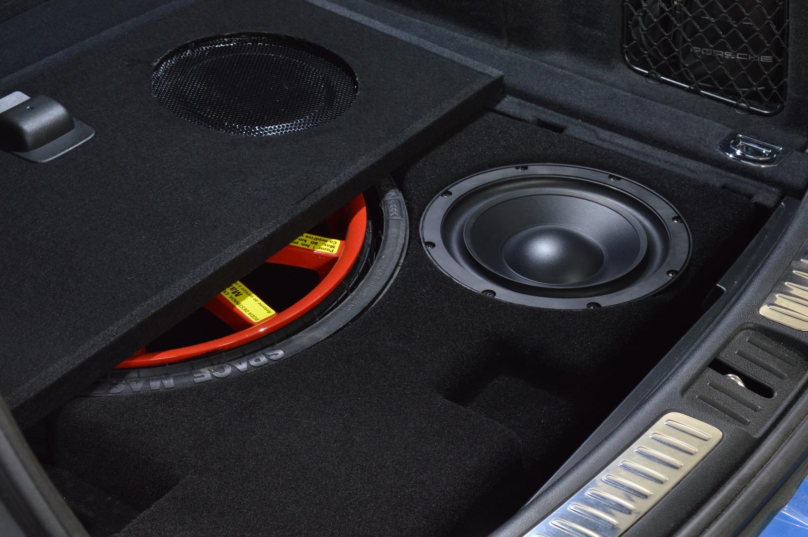 Porsche Macan Custom Subwoofer Enclosure
