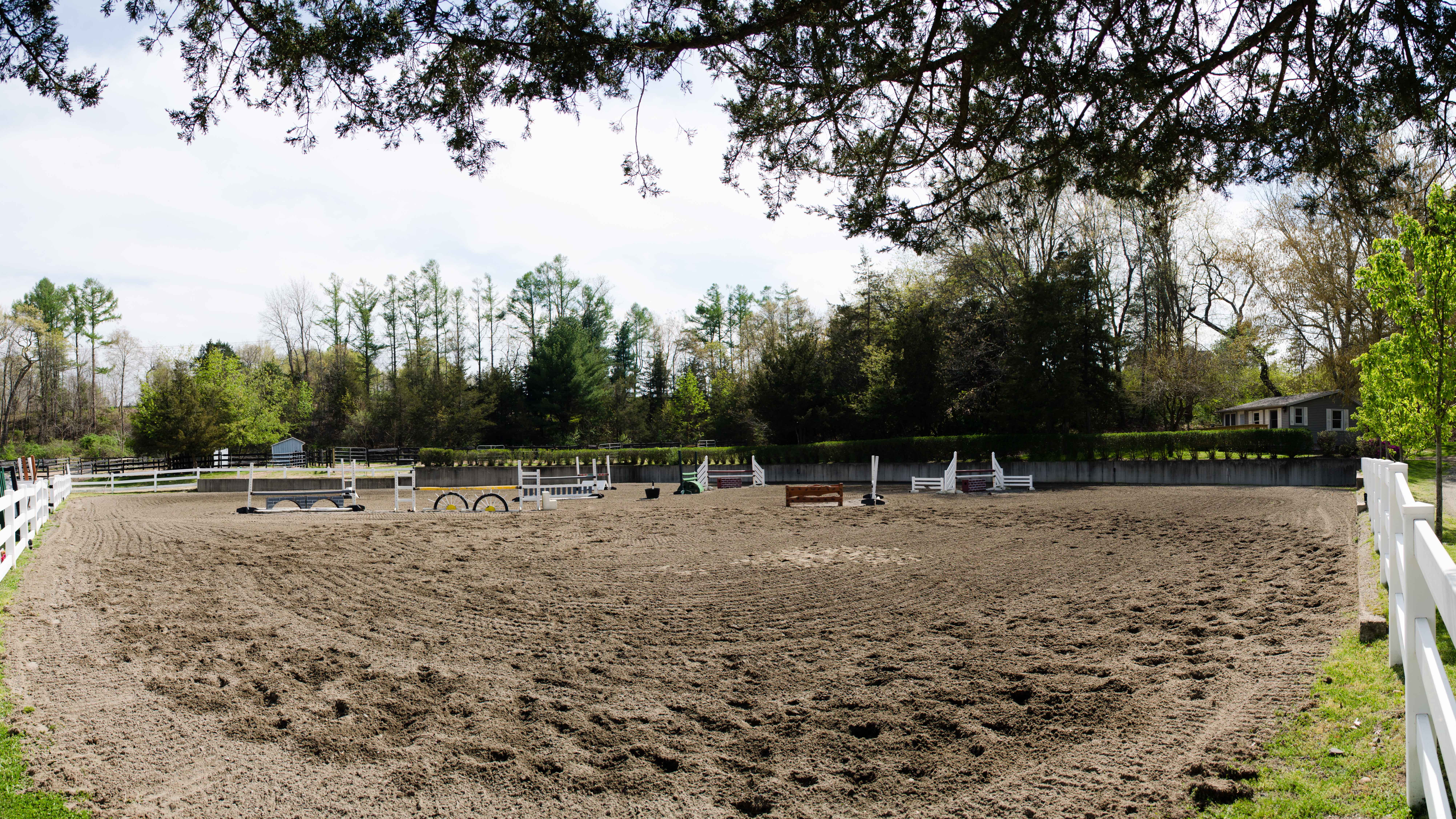 Our indoor horse riding facility at Cedar Brook Farm, LLC, in Madison, CT
