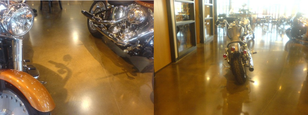 Polished Concrete, Stained Concrete