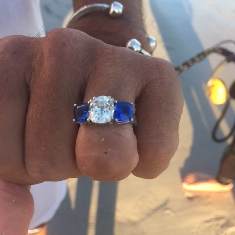 Lost Ring Found Eastern Point Beach, Groton CT