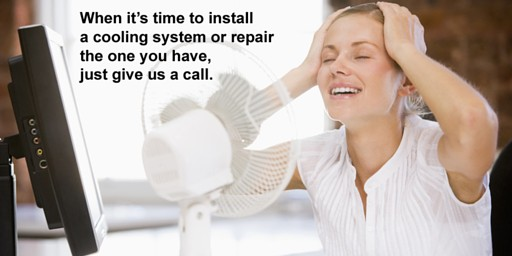 Looks like it is time to call us for work on your AC system