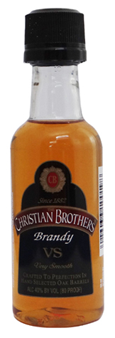 Mini bottle Christian Brothers brandy