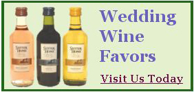Wedding Wine Favors website link