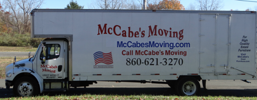 This McCabes Moving truck is ready to help you in your town