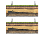 Real-time, at-bit Geosteering for Coiled Tubing Drilling
