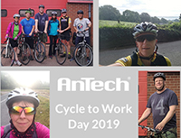 Bicycles At The Ready For AnTech's Cycle To Work Dayble Real-Time CTD Decision Making