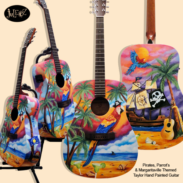 Custom Painted Guitars Stratocasters Acoustic