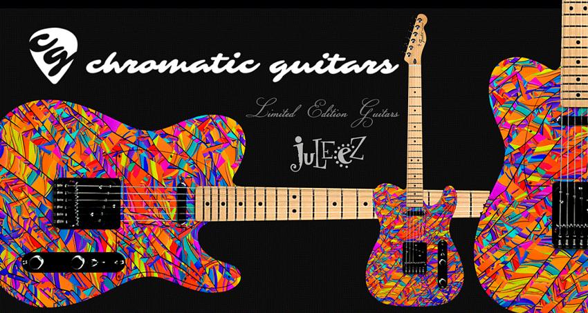 Custom Guitar Electric By Juleez