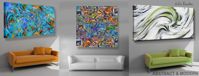 abstract wall art print canvas painting juleez