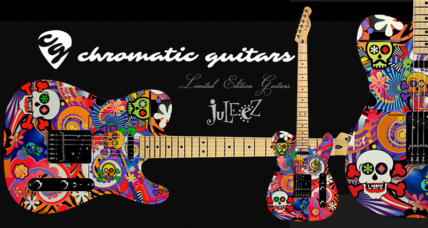 custom guitar, Electric guitar Custom by Juleez