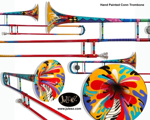 Jazzy Music Trombone by Juleez