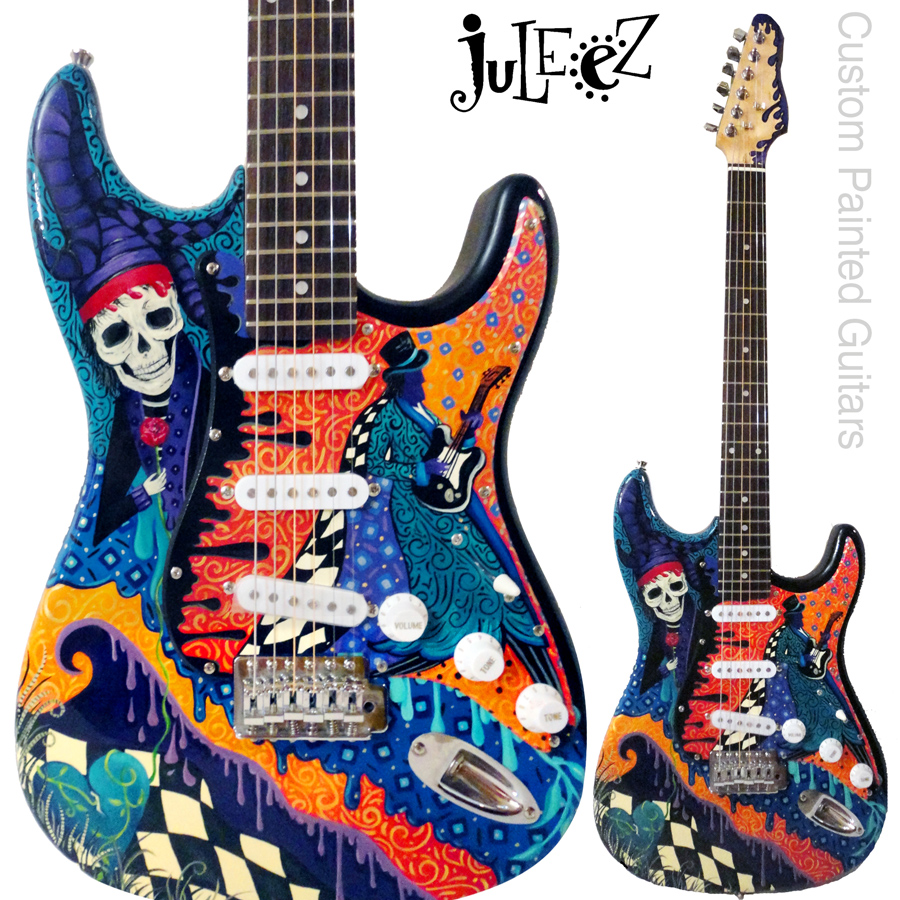 Juleez Custom Painted Fender Stratocaster